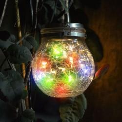 Solar LED SphereGlass...