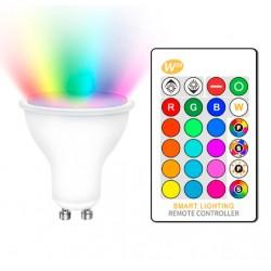 Bombilla LED GU10 5W RGBW...