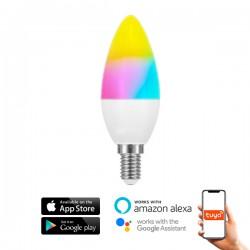 Bombilla LED SmartHome C37 6W